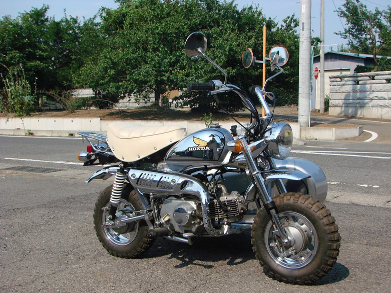 1979 Honda Monkey Chrome Special With Sidecar Rmd Motors