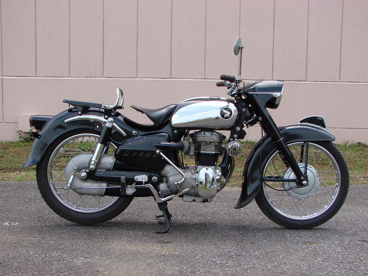 1956 Honda Dream Sa Rmd Motors